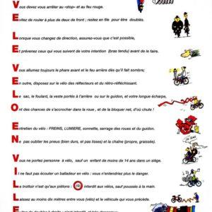 Panonceaux PVC : les règles d'or de la sécurité de l'enfant cycliste